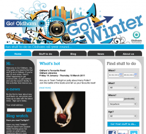 Go! Oldham Website Refresh