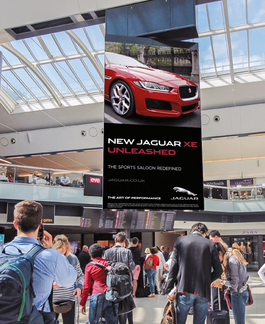 LED Advertising @ Gatwick Airport