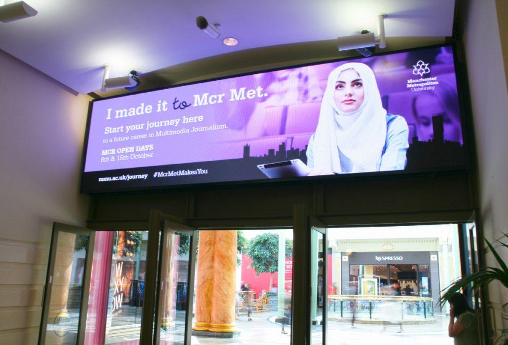 ADXBA Digital signage intu Trafford Centre