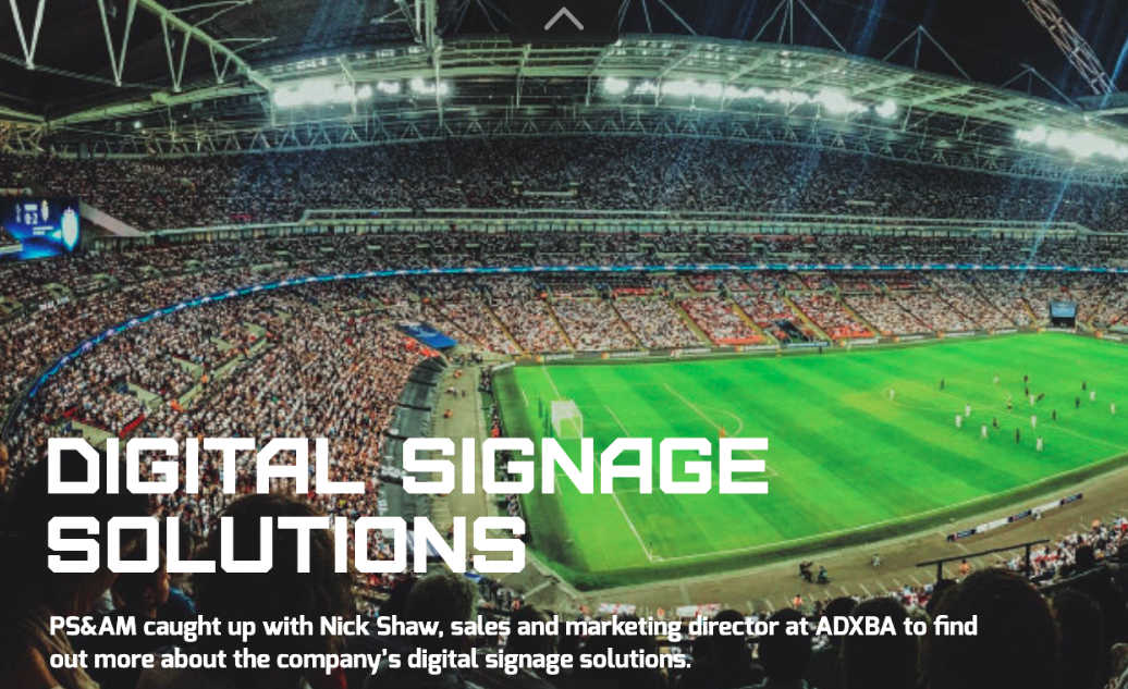 Panstadia & Arena management magazine Q&A with Nick Shaw